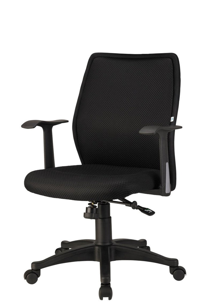 Nilkamal Blaze Mid Back Office Chair (Black)