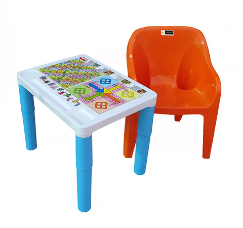 Homegenic Kids Study Table and Table Set (for kids upto 8 years) Plastic Material - HOMEGENIC