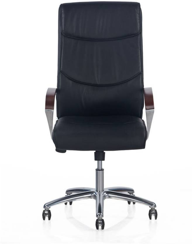 Nilkamal Boss High Back Executive Office Chair (Black) - HOMEGENIC