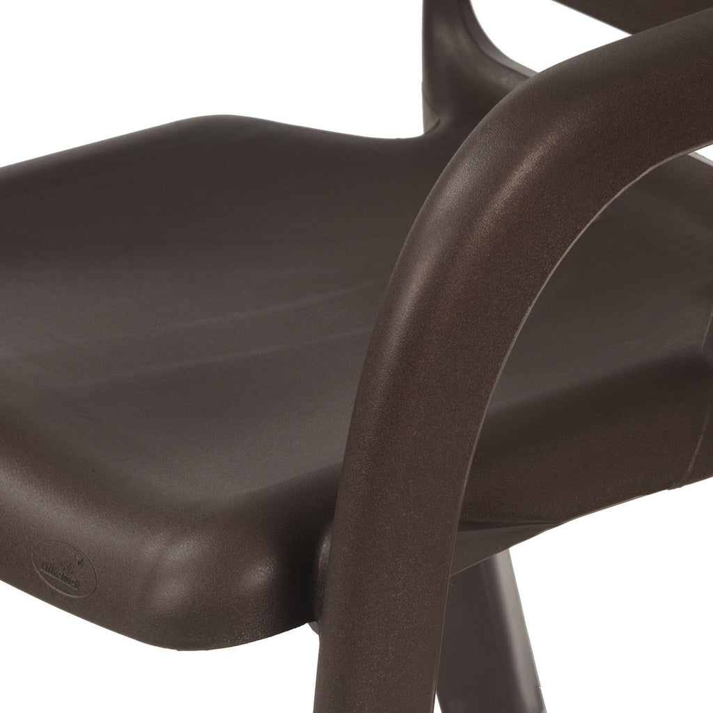 Nilkamal Premium High Back Chair 2145 (Brown) - HOMEGENIC