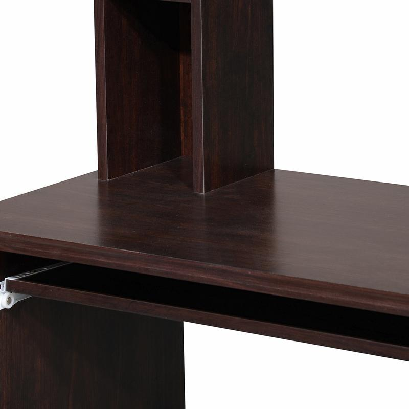 Nilkamal Dion Engineered Wood Computer Table (Wenge) with Laptop Stand Complimentary
