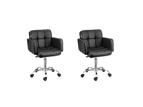 Visitor Office Chair- Set of 02 - HOMEGENIC