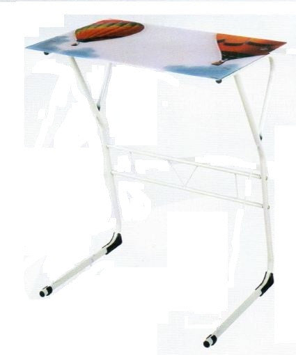 Nilkamal Glass Study Table ( JENSEN) - HOMEGENIC