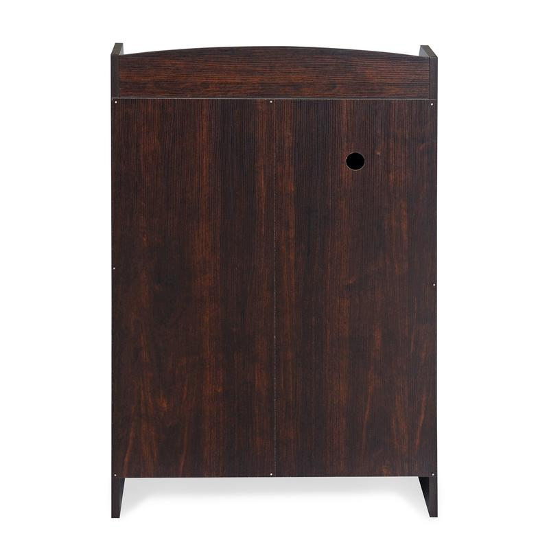 Nilkamal Alpine Shoe Cabinet (Walnut)