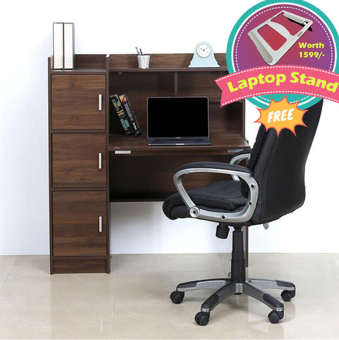 Nilkamal Jett Study Table (Walnut)