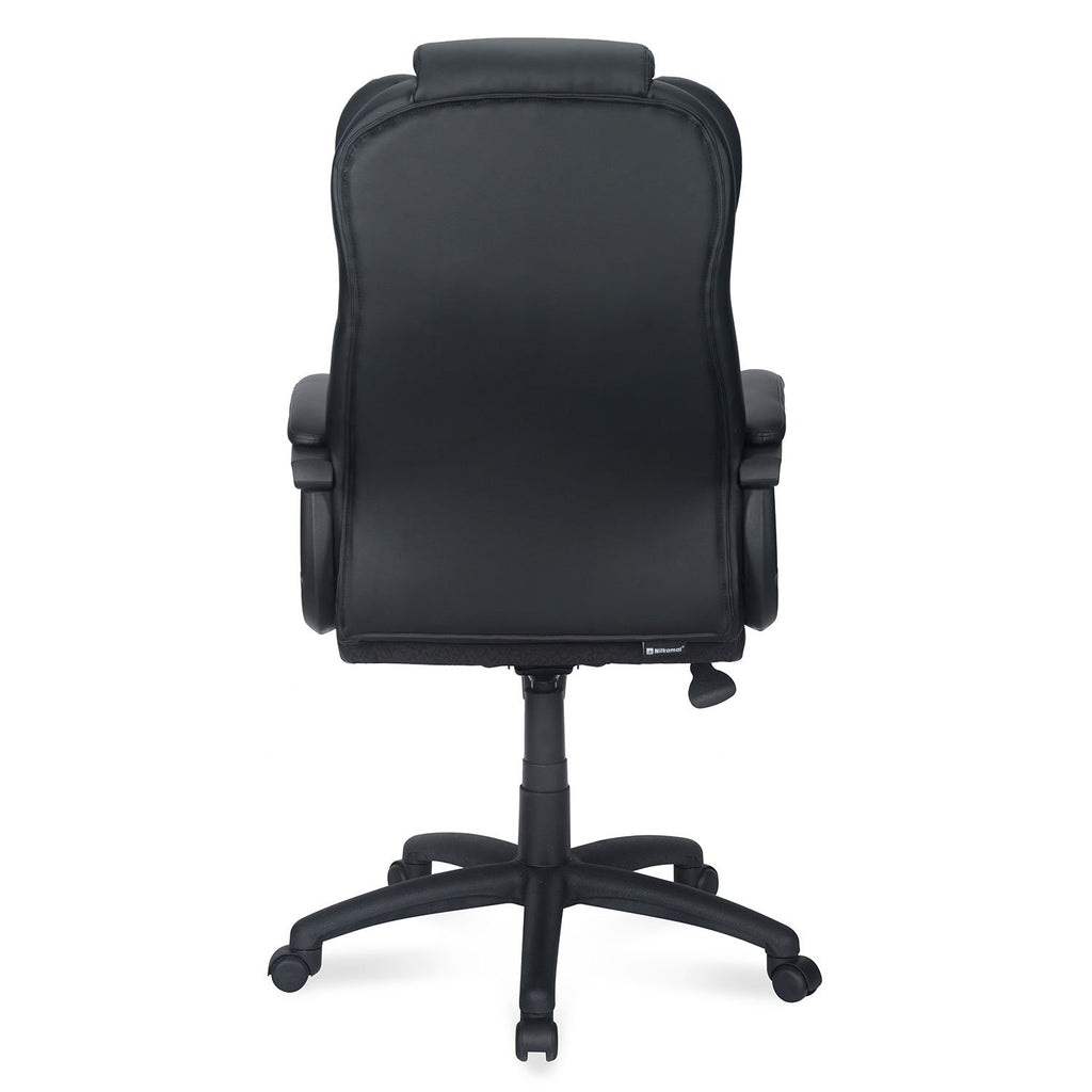 Nilkamal Kenzo High Back Office Chair (Black).