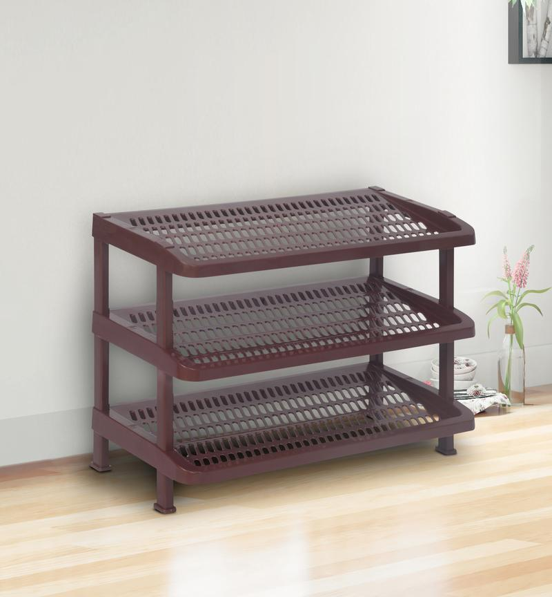Nilkamal Shoe Rack, Plastic rack for kitchen