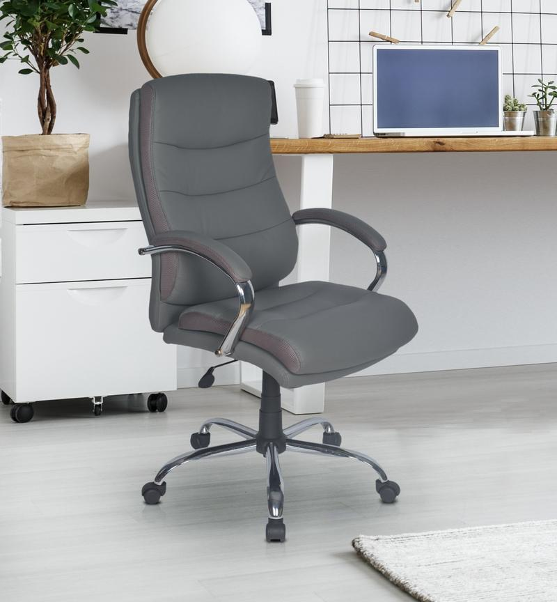 Nilkamal Neal High Back Office Chair (Grey)