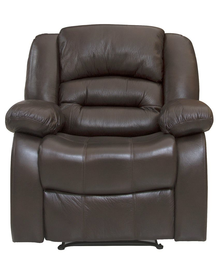 Nilkamal Inpro Single Seater Recliner (Dark Brown) - HOMEGENIC