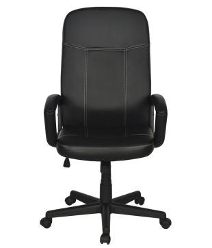 Nilkamal Mayor High Back Office Chair (Matte Finish, Black) - HOMEGENIC