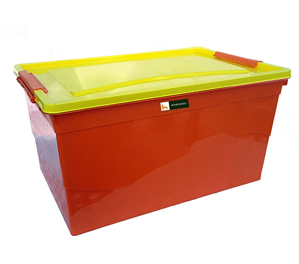 Nilkamal Storage Box 50 Ltr (Orange-Yellow)