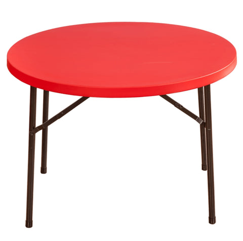 Swiss Blow Mould Rectangular Table (Red)