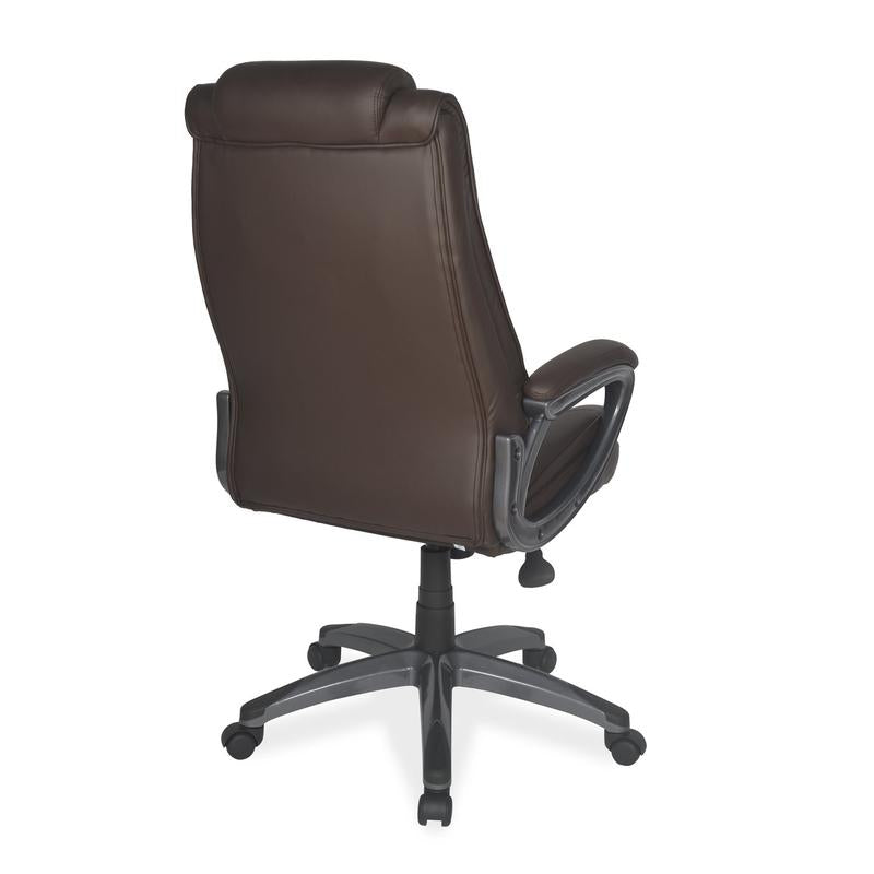Nilkamal Sara High Back Chair (Brown)