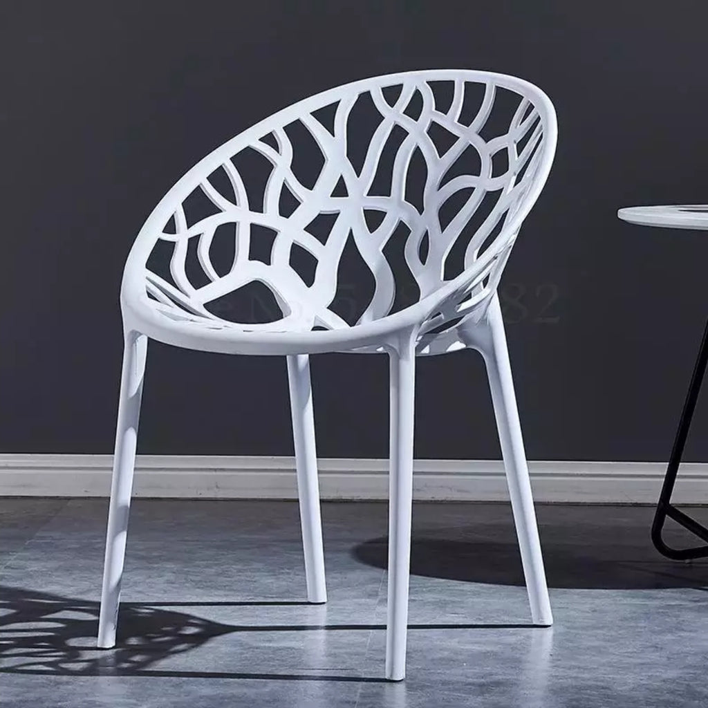 Nilkamal Crystal PP Chairs (White Color)