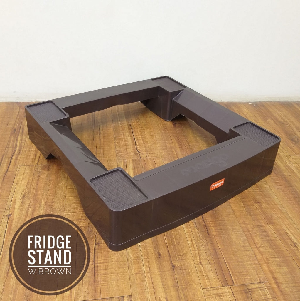 Moto Fridge Stand for upto 400 ltr Refrigerator (Assorted)