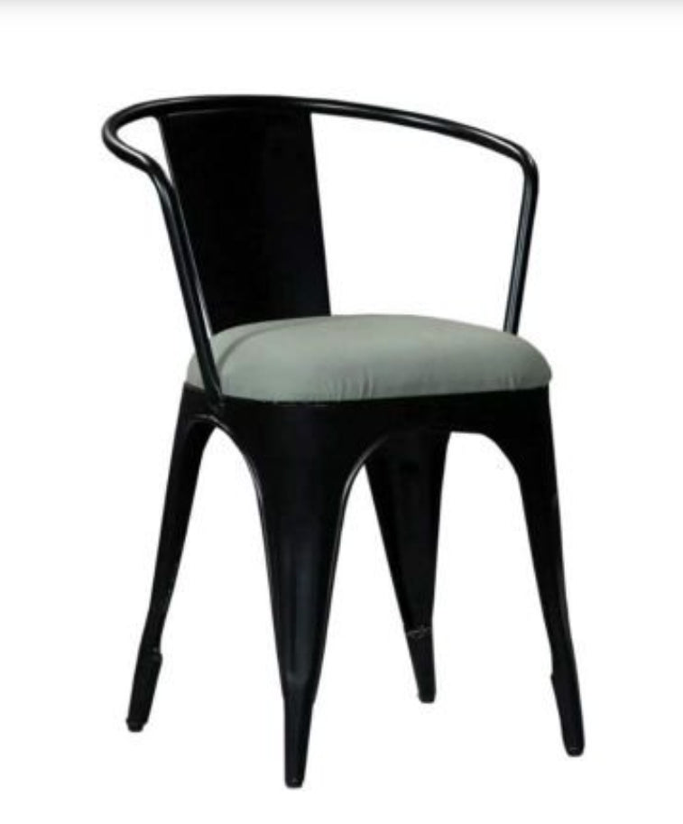Aero Tolix Metal Bistro Dining Chair.