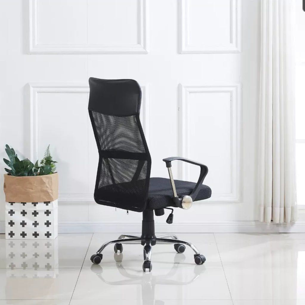 Acme Acqua High Back Mesh Office Chair 1355 (Black).