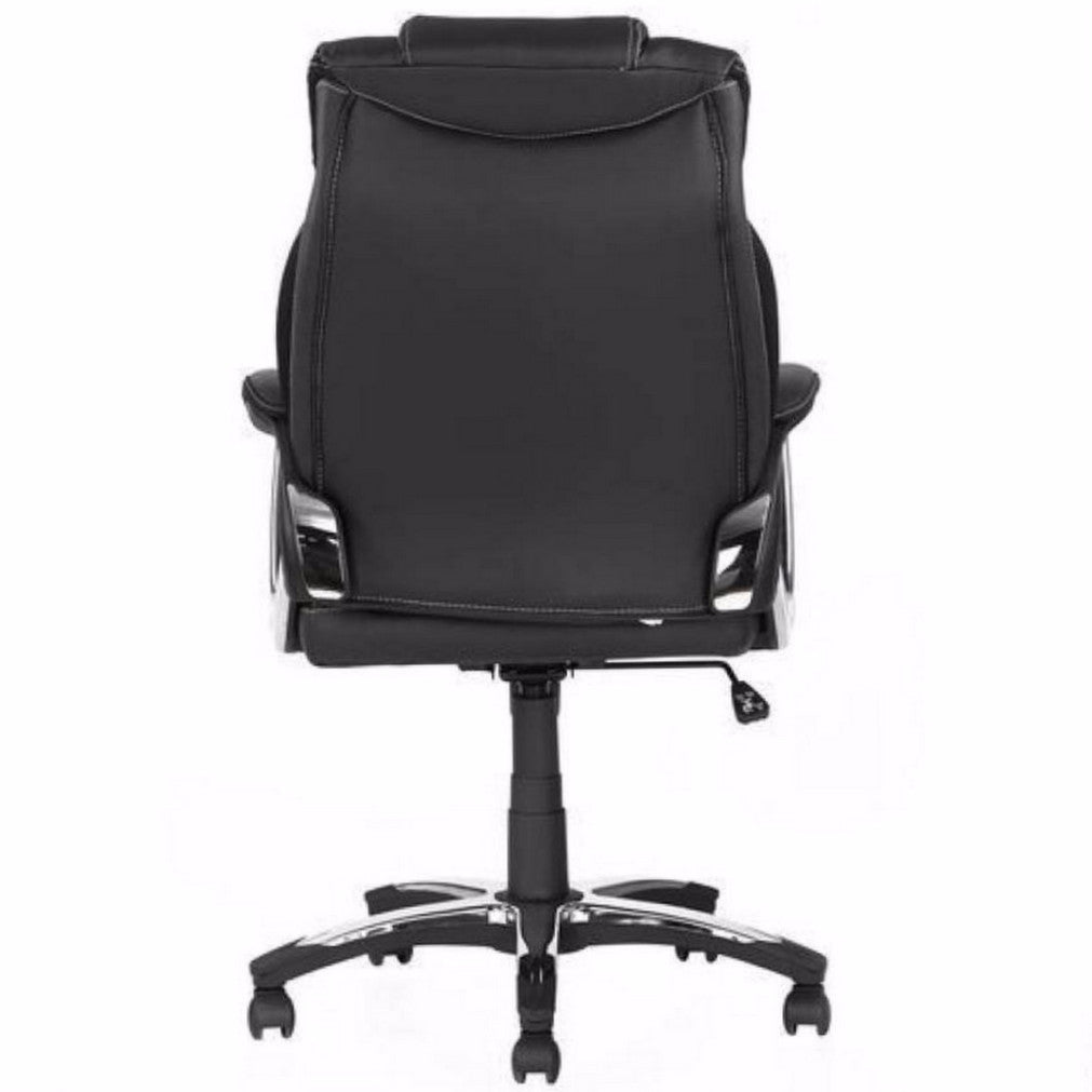 Nilkamal Trenvi Office Chair (Black) with Laptop Stand Complimentary