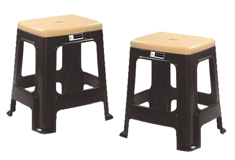 Nilkamal Plastic Stool STL23 Duo Color.