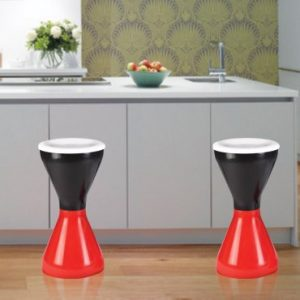 "Italica Multipurpose Damroo Stool for Home & Kitchen- 24"" Height."