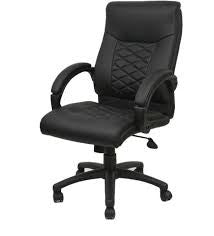 Nilkamal Executive Majestic Office Chair (Black) - HOMEGENIC