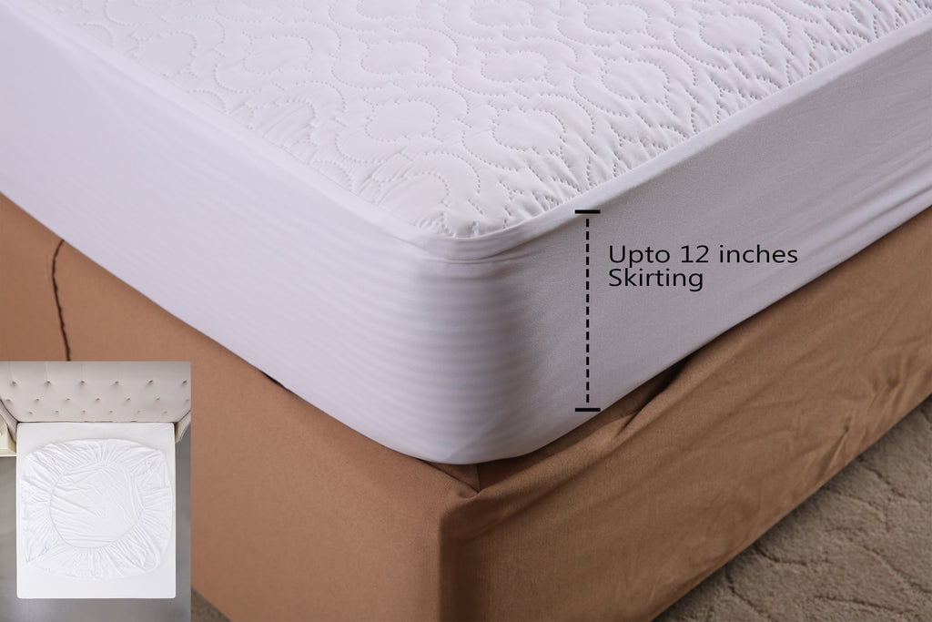 "Premium Waterproof Mattress Protector (For Mattress size 78"" x 72"") - HOMEGENIC"