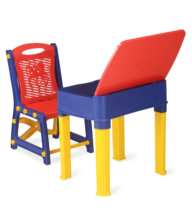 Plastic study table for kids