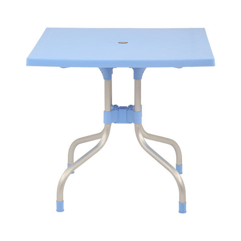 Olive Square Dining Table Round (Soft Blue) - HOMEGENIC