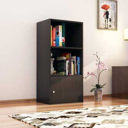 Nikamal Boston Book Case (Walnut)