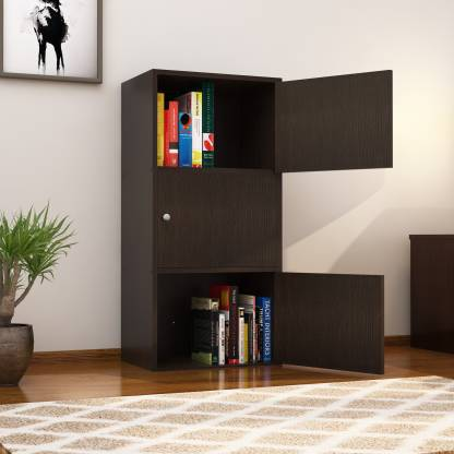 Nikamal Troy Book Case (Walnut)