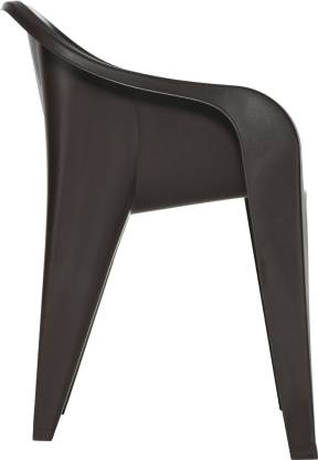 Eeezy Futura Plastic Chairs Matte Finish European Design - HOMEGENIC
