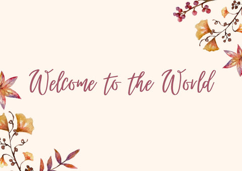 Welcome to the world - Gift note ideas from Babygrow.ie