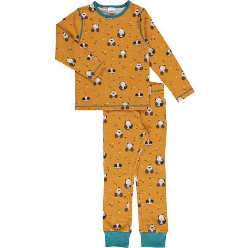 Maxomorra Mole Print Long Sleeve Pyjamas Set