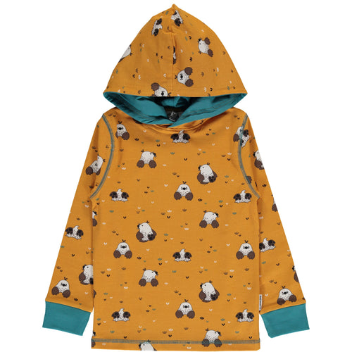 Maxomorra Mole Print Long Sleeve Hood Top