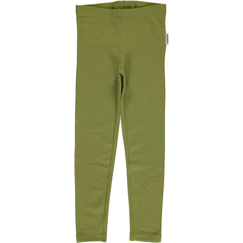 Maxomorra Apple Green Leggings