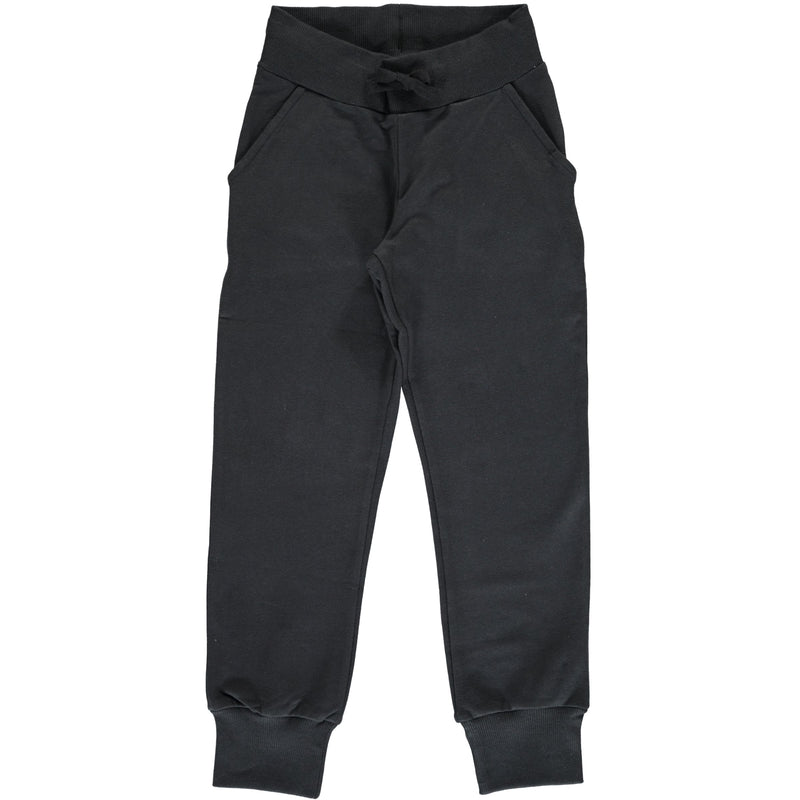 Maxomorra Black Sweatpants Tracksuit Bottoms