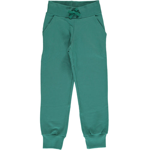 Maxomorra Green Petrol Sweatpants Tracksuit Bottoms