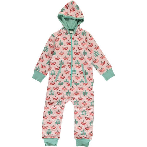 Maxomorra Ruby Rowanberry Print Hooded One Piece