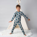 Maxomorra Beetle Print Long Sleeve Pyjamas Set
