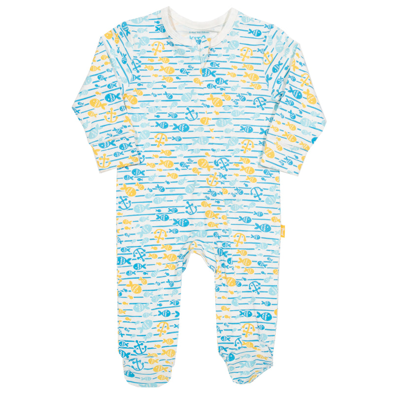 Fish Explorer Zip Sleepsuit