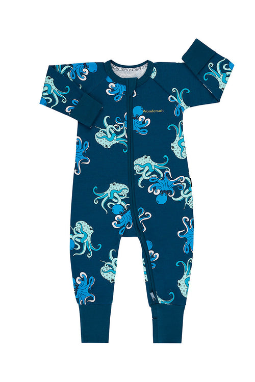 Bonds Floating Octopus Teal Wondersuit