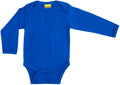 Long Sleeve Blue Bodysuit