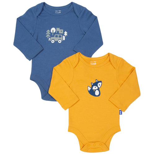 Foxy 2 Pack Bodysuit - Long Sleeve