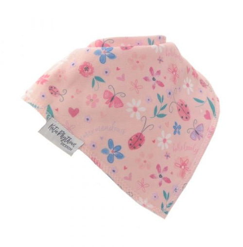 Ziggle Bandana Dribble Bib Summer Meadow by Katie Phythian