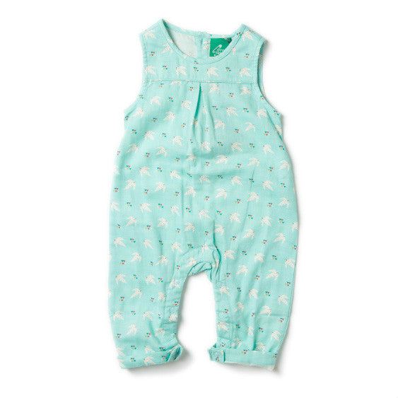 Flying Free Organic Romper available at babygrow.ie