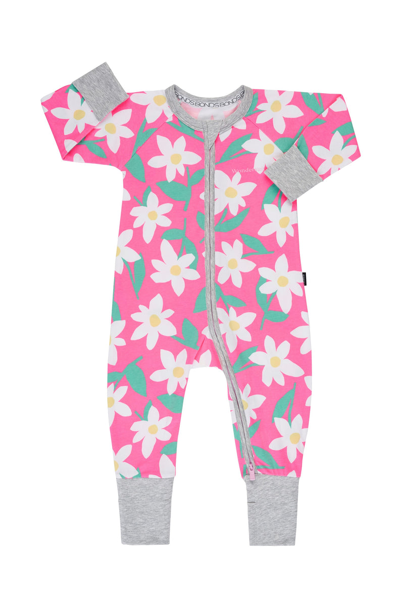 BONDS Daisy Dreaming Pink Wondersuit