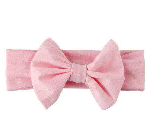 Cotton Pink Bow