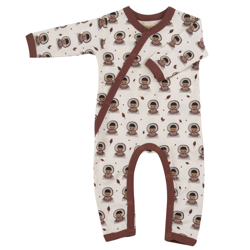 Organic Cotton Inuit Print Romper