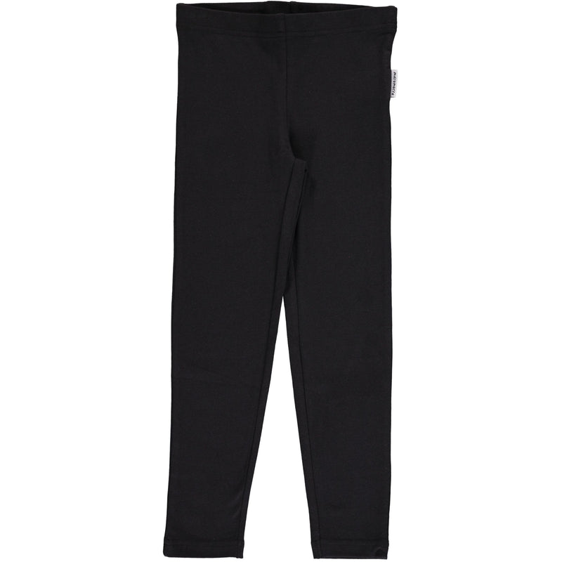 Maxomorra Black Leggings