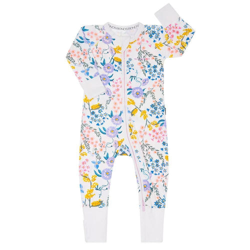 BONDS Wendys Wildflowers White Wondersuit
